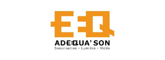 Logo de Adequa'son à Macon, partenaire de l'EPAS