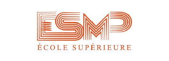 Logo de l'ESMP Ecole supérieure à Mâcon, partenaire de l'EPAS