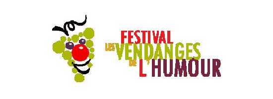 Logo du Festival les Vendanges de l'humour à Macon, partenaire de l'EPAS