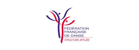 Logo de la FFD, fédération francaise de danse, partenaire de l'EPAS