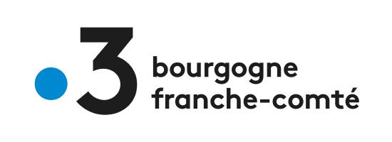 Logo de France 3 Bourgogne Franche Comté, partenaire de l'EPAS