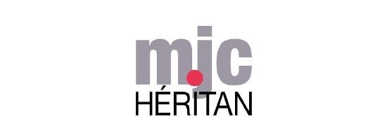 Logo de la MJC Héritan à Mâcon, partenaire de l'EPAS