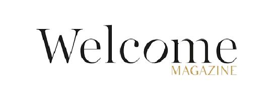 Logo de Welcome Magazine par Mario Barravecchia, partenaire de l'EPAS