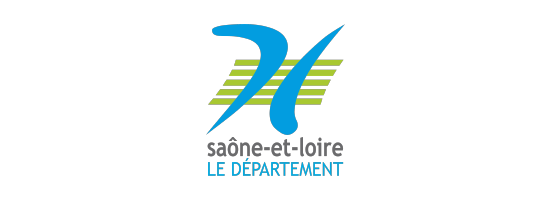 Logo du département de la Saône et Loire, partenaire de l'EPAS